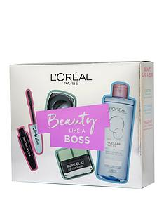 loreal-paris-skin-expert-cleanser-and-mascara-gift-set-for-her
