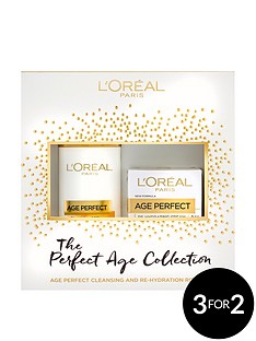 loreal-paris-skin-expert-age-perfect-cleanse-and-moisturise-gift-set-for-her