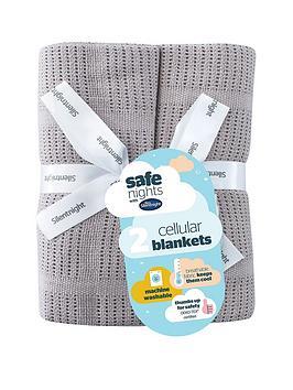 silentnight-pk-2-cellular-blanket