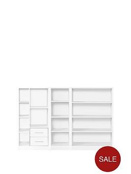 metro-3-piece-storage-bookcase-package-white
