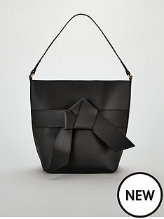 v-by-very-jude-knot-front-bucket-bag-blacknbsp