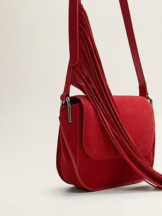 mango-fringe-leather-bagnbsp--red