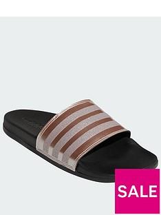 adidas-adilette-comfort-blackmetallicnbsp