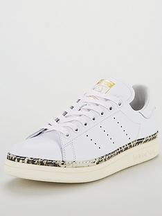 6dc2a56810036e adidas Originals Stan Smith New Bold - White