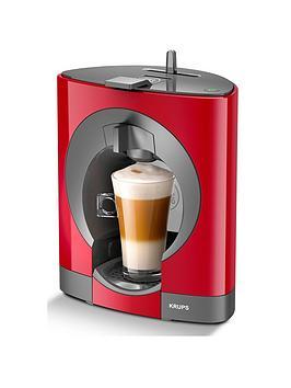 krups-nescafeacutereg-dolce-gustoreg-oblo-manual-coffee-machine-red