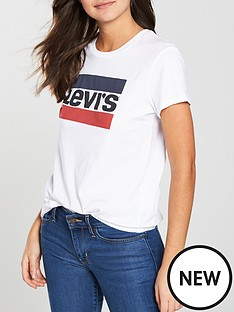 levis-the-perfect-graphic-logo-t-shirt-white