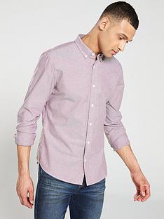 v-by-very-long-sleeved-oxford-shirt-burgundy