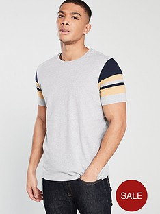 v-by-very-arm-strip-t-shirt-grey-marl