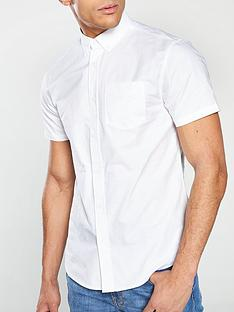 v-by-very-short-sleeved-button-down-oxford-shirt