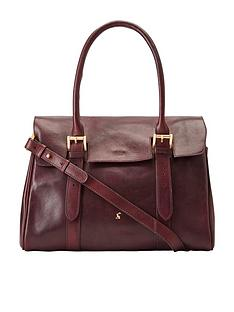 joules-oxblood-leather-tote-bag