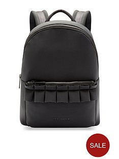 ted-baker-rresse-ruffle-detail-zip-backpack-blacknbsp