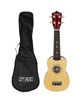 3rd-avenue-soprano-ukulele-natural