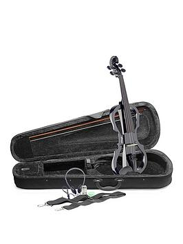 stagg-stagg-evn-x-electric-violin-outfit-black