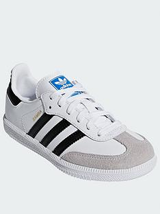 adidas-originals-samba-childrensnbsp-whiteblacknbsp