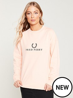 fred-perry-embroidered-sweatshirt-iced-coral