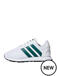 adidas-originals-n-5923-childrens-trainers-whitegreen