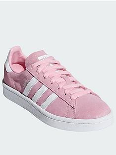 3840dc7fe518 adidas Originals Campus Junior - Pink White