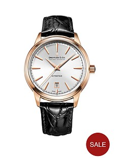 dreyfuss-co-dreyfuss-silver-and-rose-gold-detail-date-dial-black-leather-strap-mens-watch