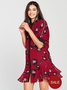 religion-ashley-floral-print-tunic-dress