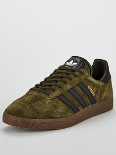923f2f61225 adidas Originals Gazelle - Khaki Black