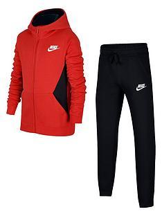 nike-boys-sportswearnbspcore-tracksuit-red
