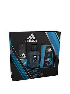 adidas-adidas-ice-dive-50ml-edt-150ml-body-spray-250ml-shower-gel-gift-set