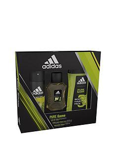 adidas-adidas-pure-game-50ml-edt-150ml-body-spray-250ml-shower-gel-gift-set