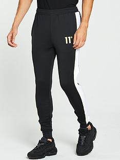11-degrees-skinny-pannelled-poly-jogger