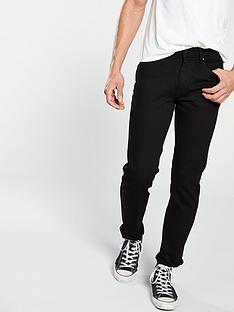 very-man-straightnbspfit-jeans-black