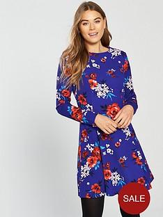 v-by-very-volume-hem-dress-floral-print