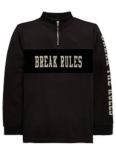 v-by-very-boys-break-the-rules-funnel-neck-sweat-shirt-charcoal
