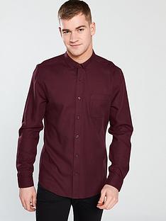 v-by-very-long-sleeved-soft-twill-shirt-burgundy