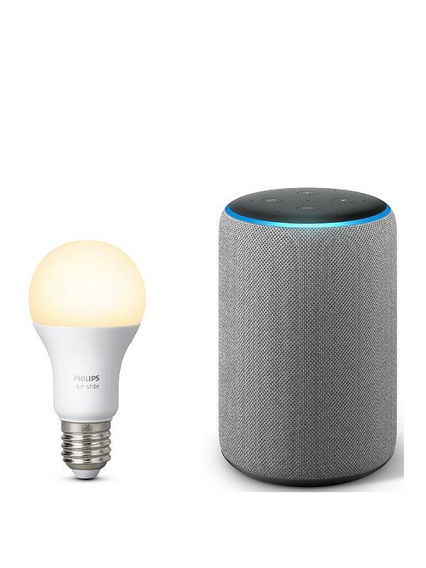 Amazon Echo Plus 2nd Gen With Built In Smart Hub And Hue White