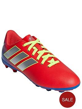 e63cc737d adidas Adidas Junior Nemeziz Messi 18.4 Firm Ground Football Boot ...