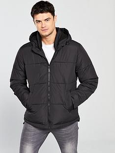 river-island-hooded-paddednbspjacket-with-funnel-neck-black