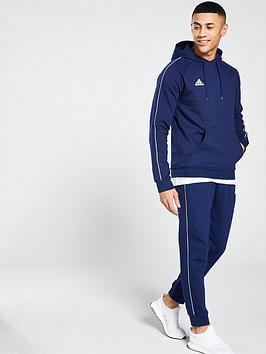 2c9418b7c58 adidas Adidas Mens Core 18 Sweat Hooded Tracksuit ...