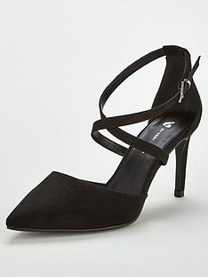 V By Very Aimee Wide Fit Strappy Heeled Shoe