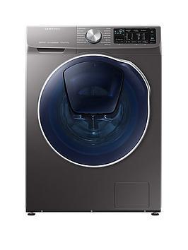 samsung-wd90n645ooxeu-9kgnbspwash-5kgnbspdry-1400-spin-quickdrivetrade-washer-dryer-with-addwashtradenbsp--graphite