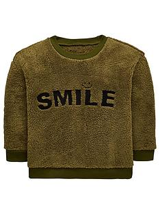 mini-v-by-very-boys-smile-embroidered-soft-touch-fleece-sweatshirt-olive