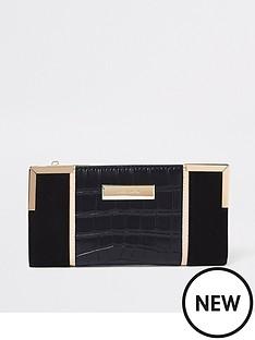 river-island-foldout-purse--black