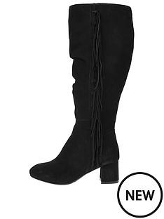 monsoon-syndey-slouched-fringed-boot-ndash-black