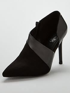 wallis-coco-pu-mix-stiletto-shoes-black