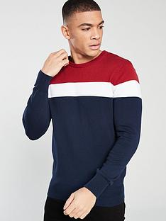 v-by-very-colour-block-knit