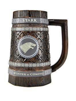 game-of-thrones-game-of-thrones-embossed-stein-mug-stark