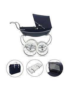 silver-cross-oberon-navy-dolls-pram-4-piece-exclusive-bundle-with-personalisation