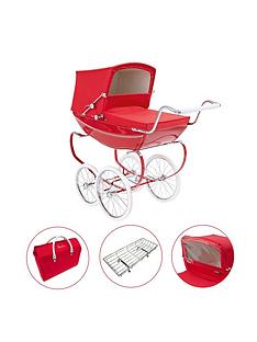 silver-cross-oberon-poppy-red-dolls-pram-4-pieces-exclusive-bundle-personalised