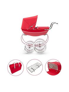 silver-cross-oberon-poppy-red-dolls-pram-4-pieces-exclusive-bundle
