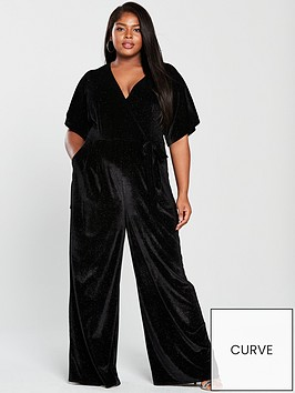 girls-on-film-curve-velvet-wrap-tie-waist-wide-leg-jumpsuit-black