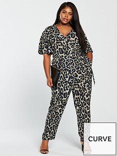 girls-on-film-curve-jumpsuit-withnbsptie-waist-leopard-print