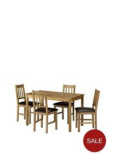 julian-bowen-coxmoor-118-cm-solid-oak-dining-table-4-chairs